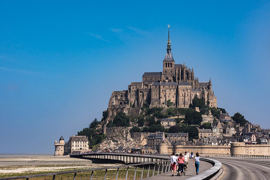 Normandia-Mont-Saint-Michel